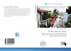 Capa do livro de Lerma, Mexico State
