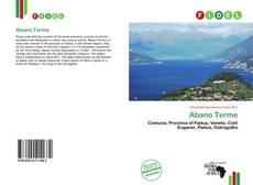 Bookcover of Abano Terme