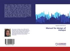 Bookcover of Manual for design of mosque
