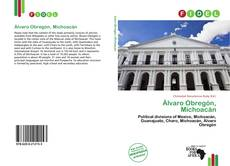 Bookcover of Álvaro Obregón, Michoacán