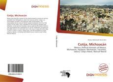 Bookcover of Cotija, Michoacán