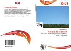 Bookcover of Siorac-de-Ribérac