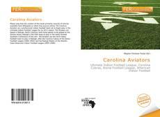 Bookcover of Carolina Aviators