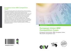 Capa do livro de European Union IBM Competition Cases