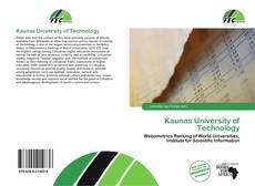 Portada del libro de Kaunas University of Technology