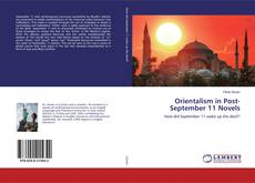 Bookcover of Orientalism in Post-September 11 Novels
