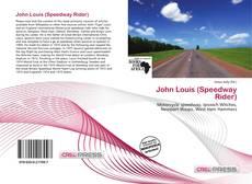 Обложка John Louis (Speedway Rider)