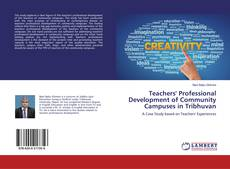 Bookcover of Teachers' Professional Development of Community Campuses in Tribhuvan