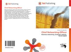Buchcover von Chief Networking Officer