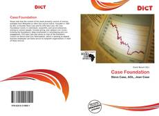 Bookcover of Case Foundation