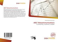 Bookcover of ADC Telecommunications