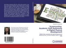 Capa do livro de Screencasting Academic Staff Autonomy in Digital Fluency Development