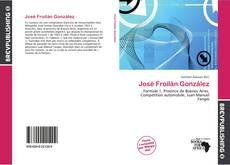 Bookcover of José Froilán González