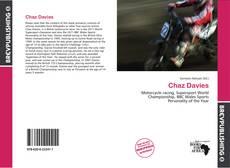 Chaz Davies的封面
