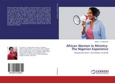 Bookcover of African Women in Ministry: The Nigerian Experience