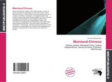 Bookcover of Mainland Chinese