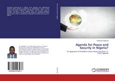Copertina di Agenda for Peace and Security in Nigeria?