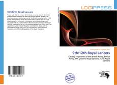 Capa do livro de 9th/12th Royal Lancers