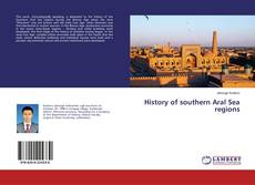 History of southern Aral Sea regions kitap kapağı
