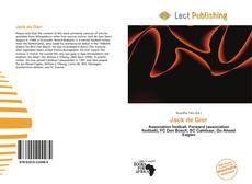 Bookcover of Jack de Gier