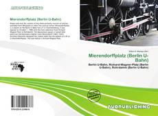 Buchcover von Mierendorffplatz (Berlin U-Bahn)