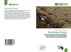 Bookcover of Distribution Frame