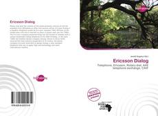 Обложка Ericsson Dialog