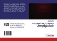 Portada del libro de Factors Influencing Optimal Budget Execution in Developing Countries