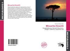 Minuartia Howellii kitap kapağı