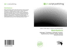 Bookcover of Metribolone