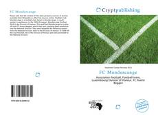 Bookcover of FC Mondercange