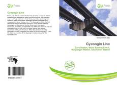 Bookcover of Gyeongin Line