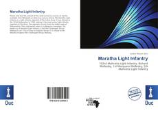 Bookcover of Maratha Light Infantry