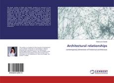 Copertina di Architectural relationships