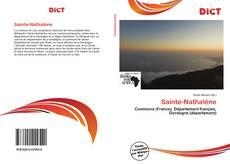 Bookcover of Sainte-Nathalène