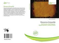 Rosanna Arquette kitap kapağı