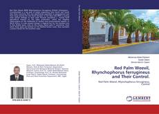 Red Palm Weevil, Rhynchophorus ferrugineus and Their Control. kitap kapağı