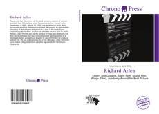 Richard Arlen kitap kapağı