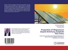 Copertina di Properties of Magnesium doped Antimony Sulphide Thin Films
