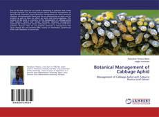 Botanical Management of Cabbage Aphid的封面