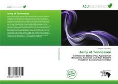 Capa do livro de Army of Tennessee