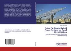 Bookcover of Solar PV-Biogas Hybrid Power System for Rural Electrification