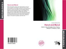 Bookcover of Harut and Marut