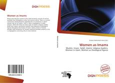 Bookcover of Women as Imams
