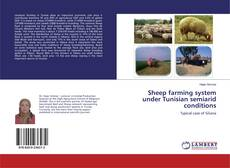 Buchcover von Sheep farming system under Tunisian semiarid conditions