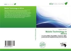 Buchcover von Mobile Technology in Africa