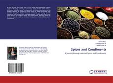 Capa do livro de Spices and Condiments
