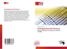 Capa do livro de Entrepreneurial Finance