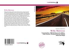 Bookcover of Willy Mairesse