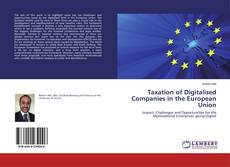 Bookcover of Taxation of Digitalised Companies in the European Union